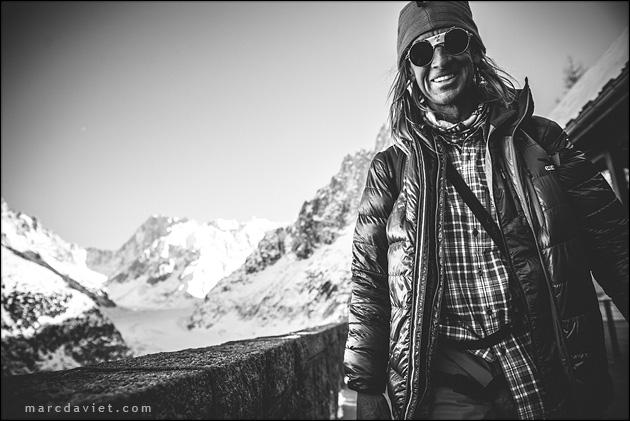 Glen Plake à Chamonix.