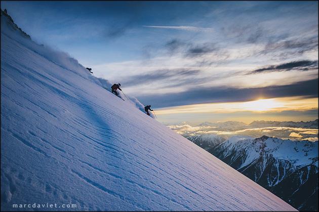 ski aux Grands-Montets