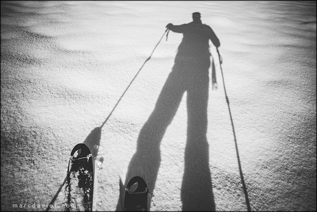 Ski de rando à Megève