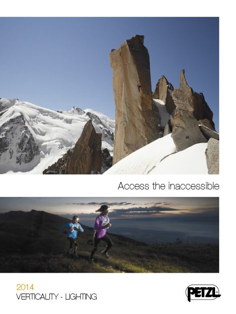 Petzl Catalogue Sport 2014
