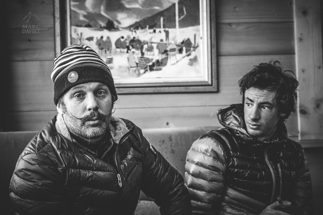 Enak Gavaggio et Kilian Jornet au Big Up & Down