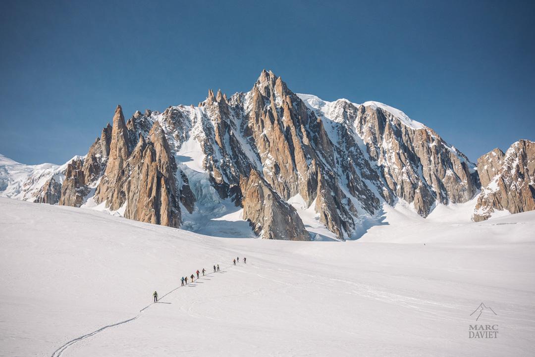 The Line dans le Massif du Mont-Blanc