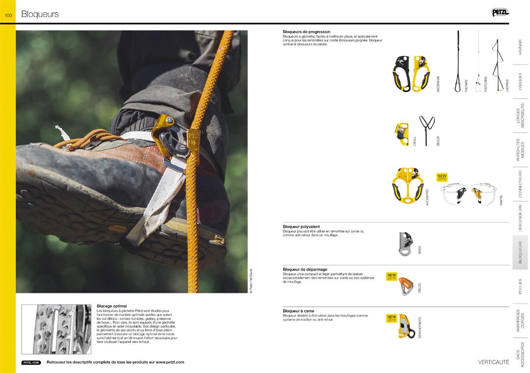 Petzl catalogue pro 2016 - nouveau Pantin Petzl