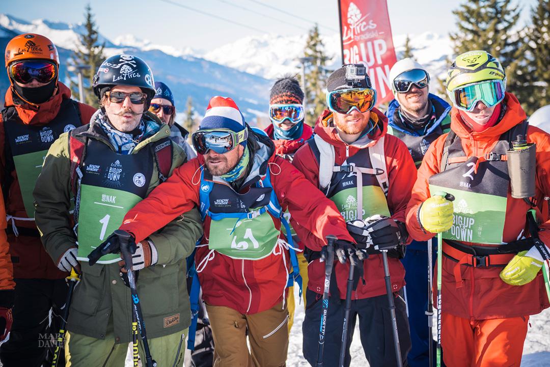Les concurrents sont prêts pour le départ du BigNak au Big Up and Down 2016.