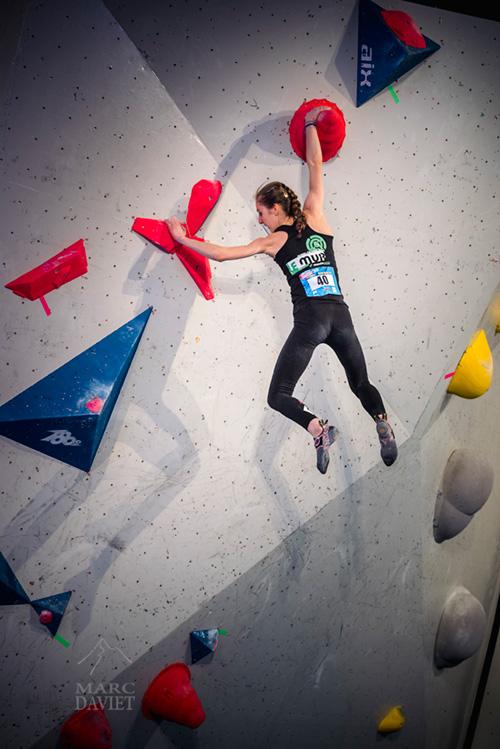 Enorme performance pour la cadette Pyrène Santal qui se hisse à la troisième place du podium.