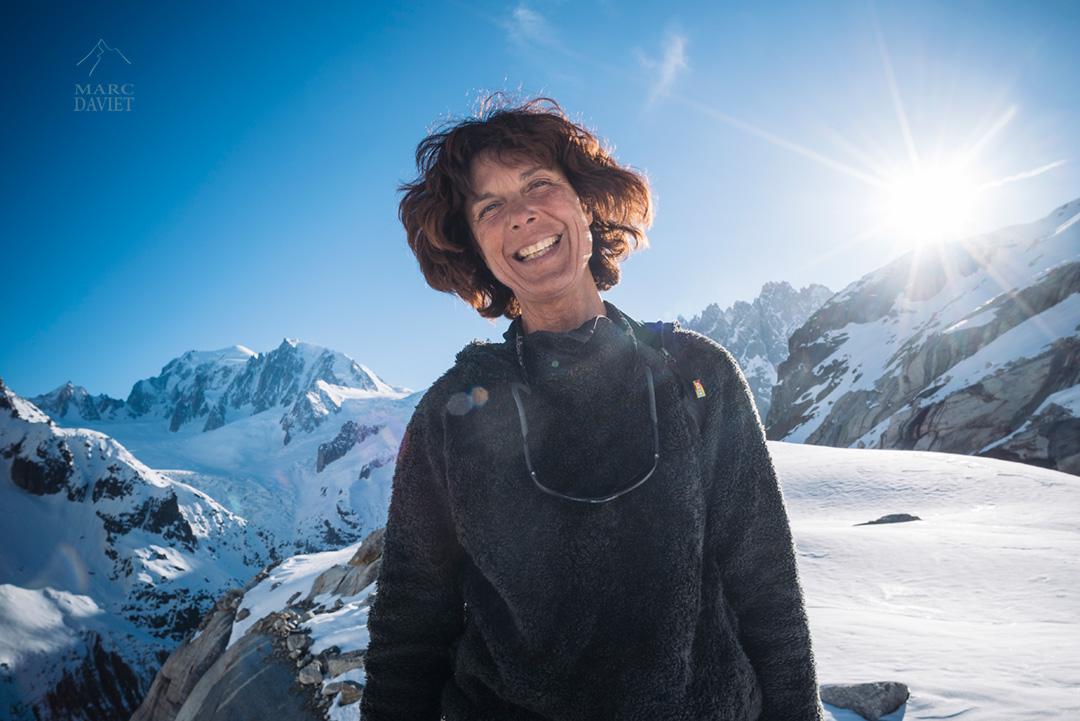 Le grand sourire de Nathalie Haghenmuler, notre guide du jour.
