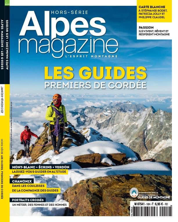 Couverture Hors-série Alpes-Magazine Guides