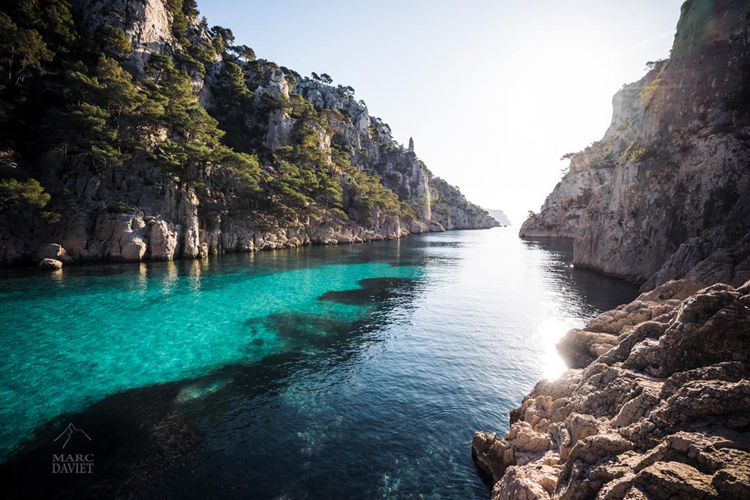 L'eau turquoise de la Calanque d'En-Vau