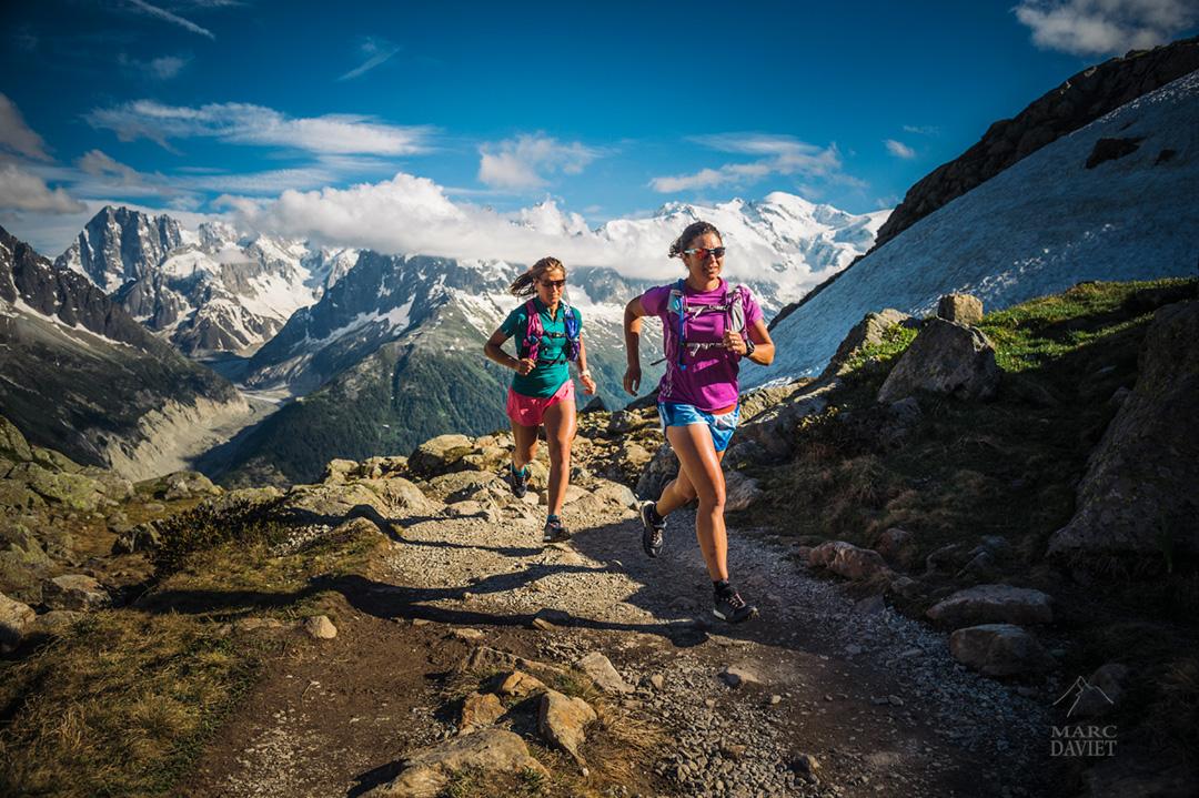 Trail running dans les Aiguilles Rouges