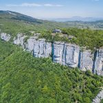 Aerial Cliff View – La Chambotte