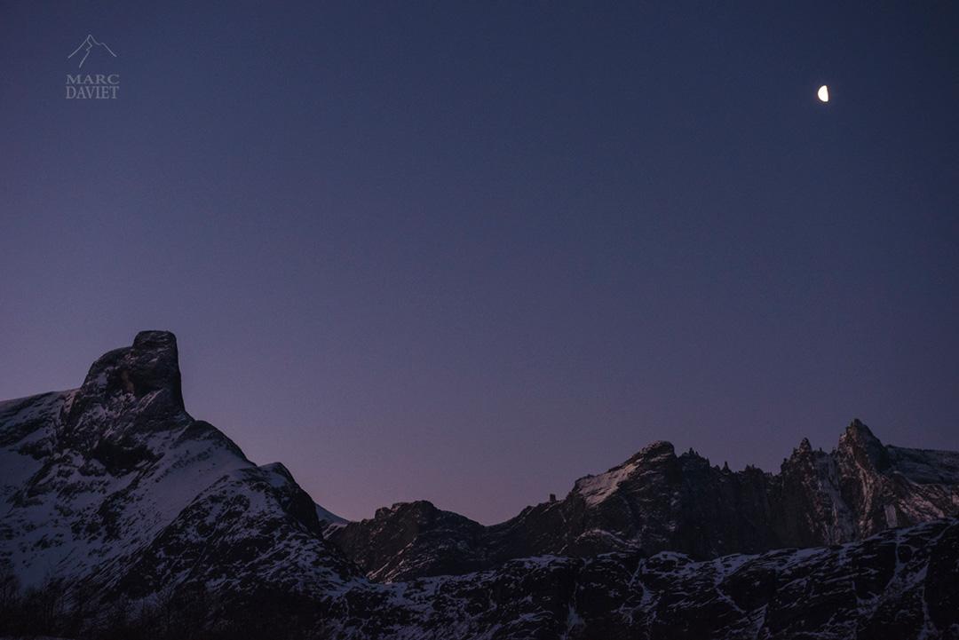 Montagnes Norvégiennes du côté du Trollveggen