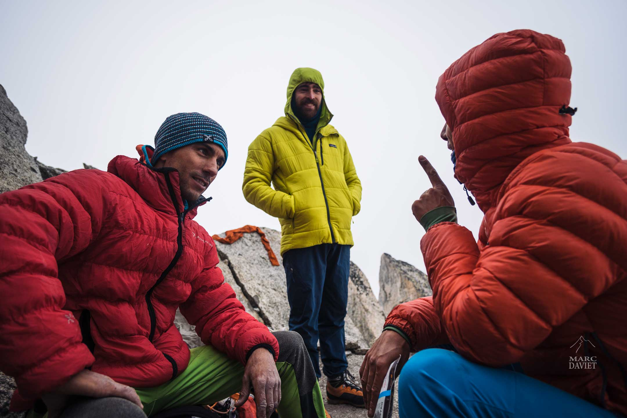 Christophe, Sean et Aymeric