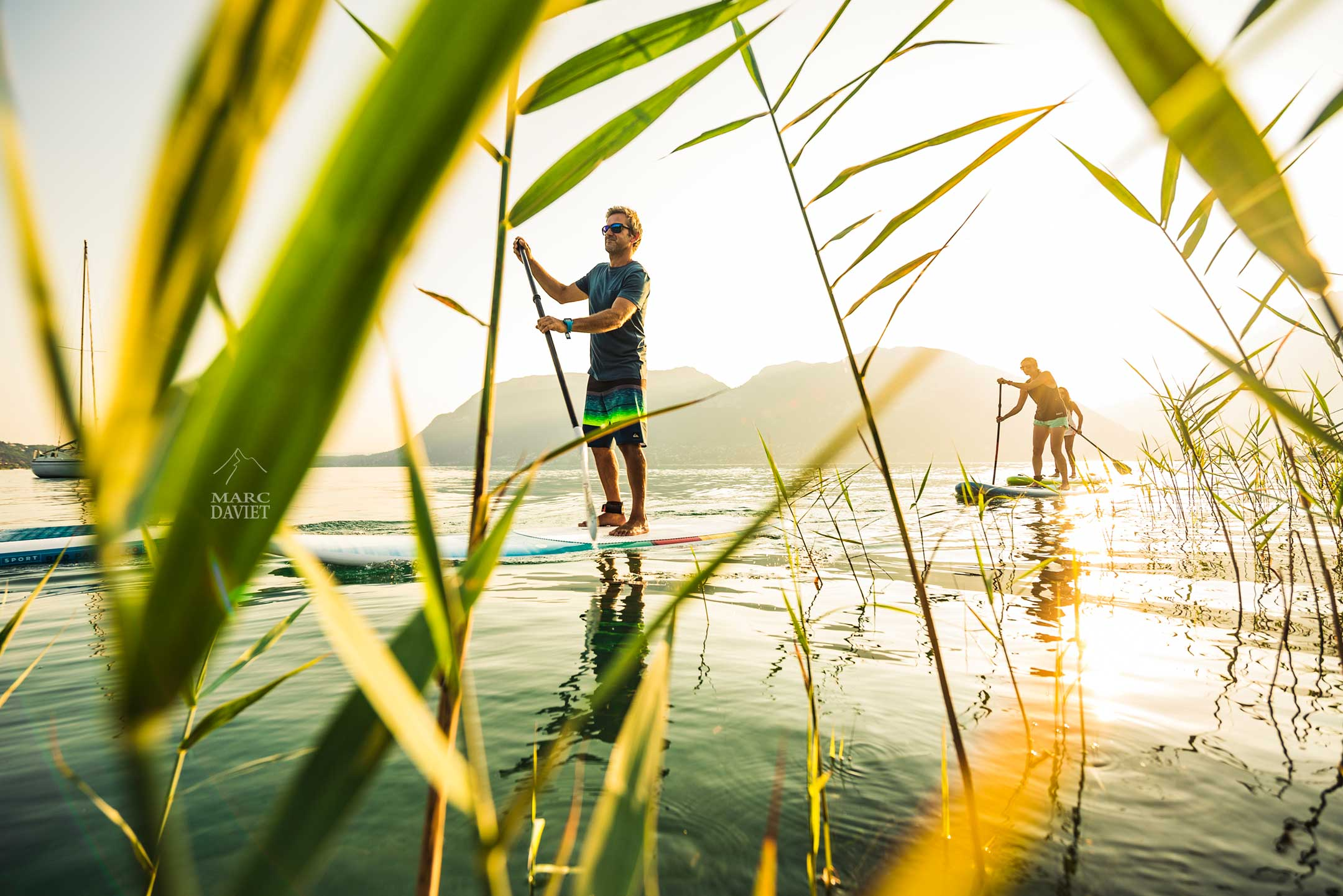 Paddle session au lac d'Annecy