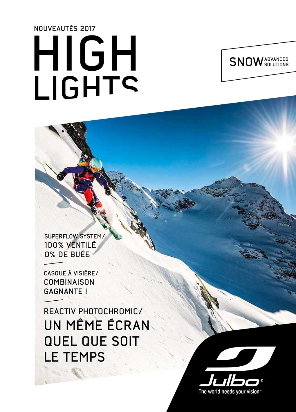 Couverture du High Lights Snow Julbo