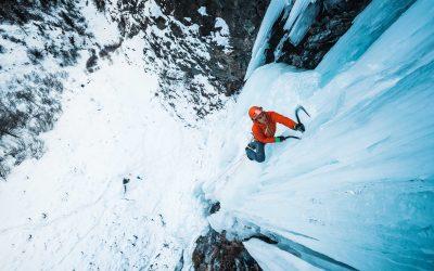 Cascade de glace à Cogne