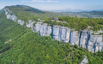 Aerial Cliff View – La Chambotte